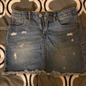 Girls gap Jean skirt